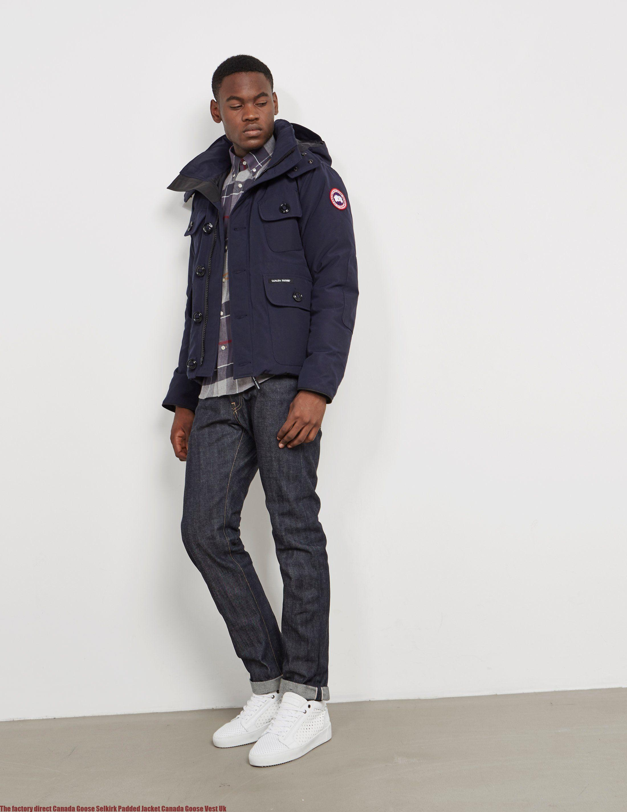 cea0c86b34f The factory direct Canada Goose Selkirk Padded Jacket Canada Goose Vest Uk